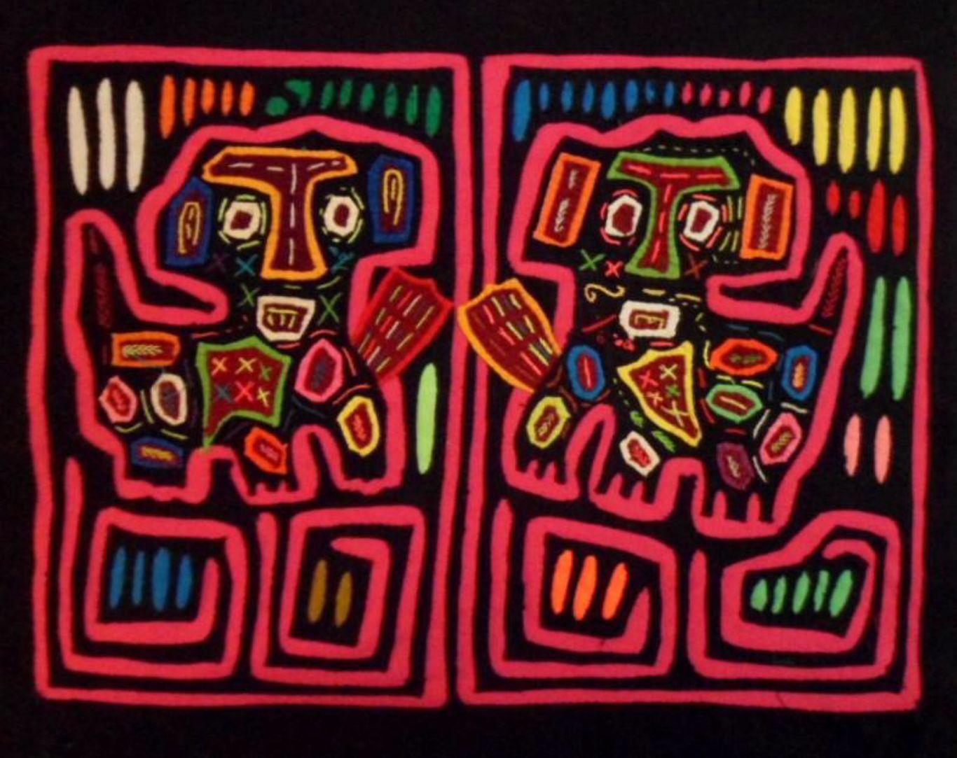 Pin by Monika Piasecki on Panama Mola, Kuna, Dogs and