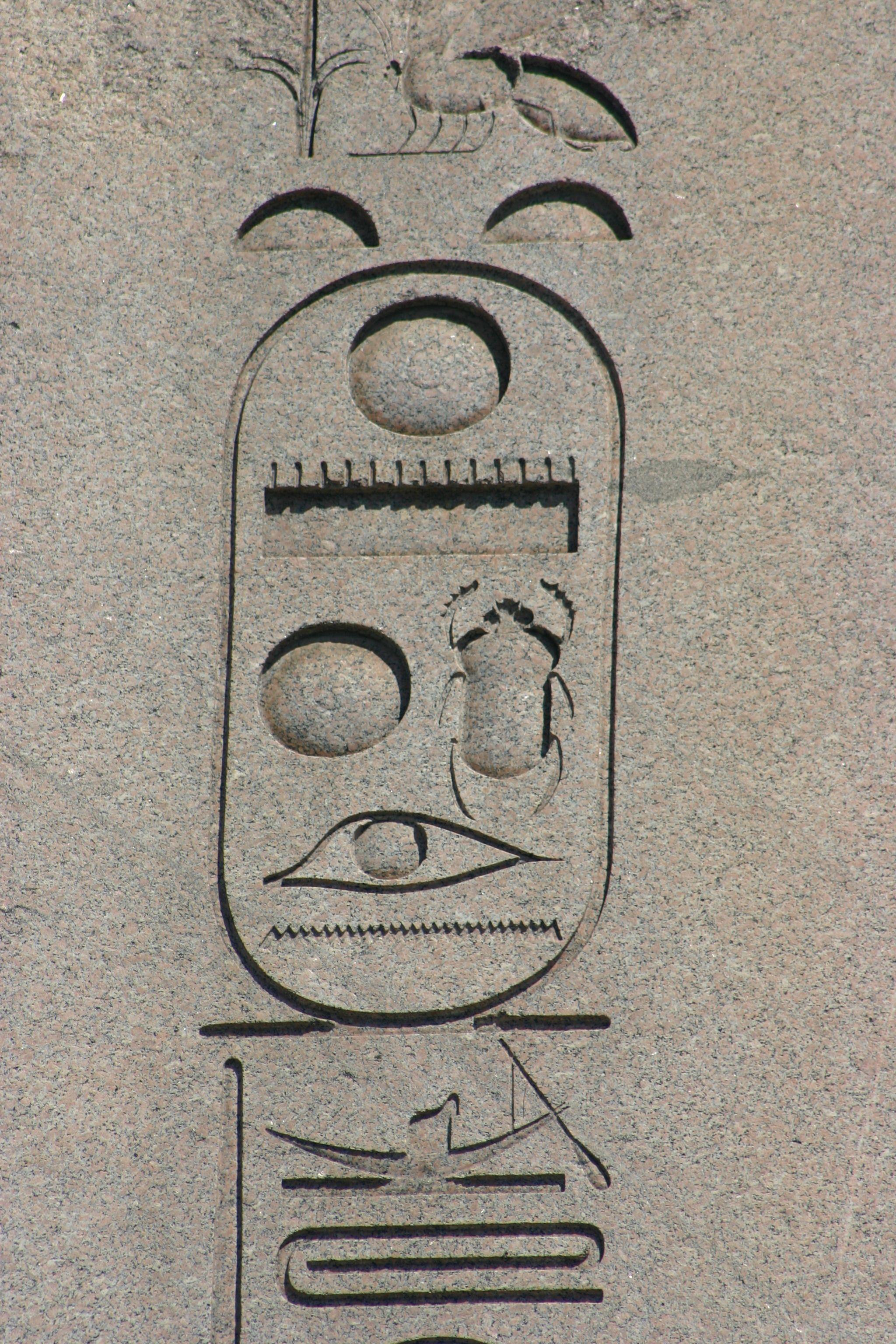 Shenna Cartouche Of Nesi Pharaoh Thutmoses Iii 18th