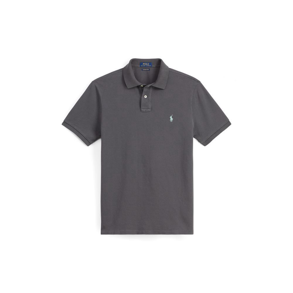 3dc12428 Polo Ralph Lauren Mens Big Pony City Custom Fit Mesh Polo Shirt