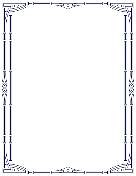 printable art deco border  free gif  jpg  pdf  and png downloads at      pageborders org