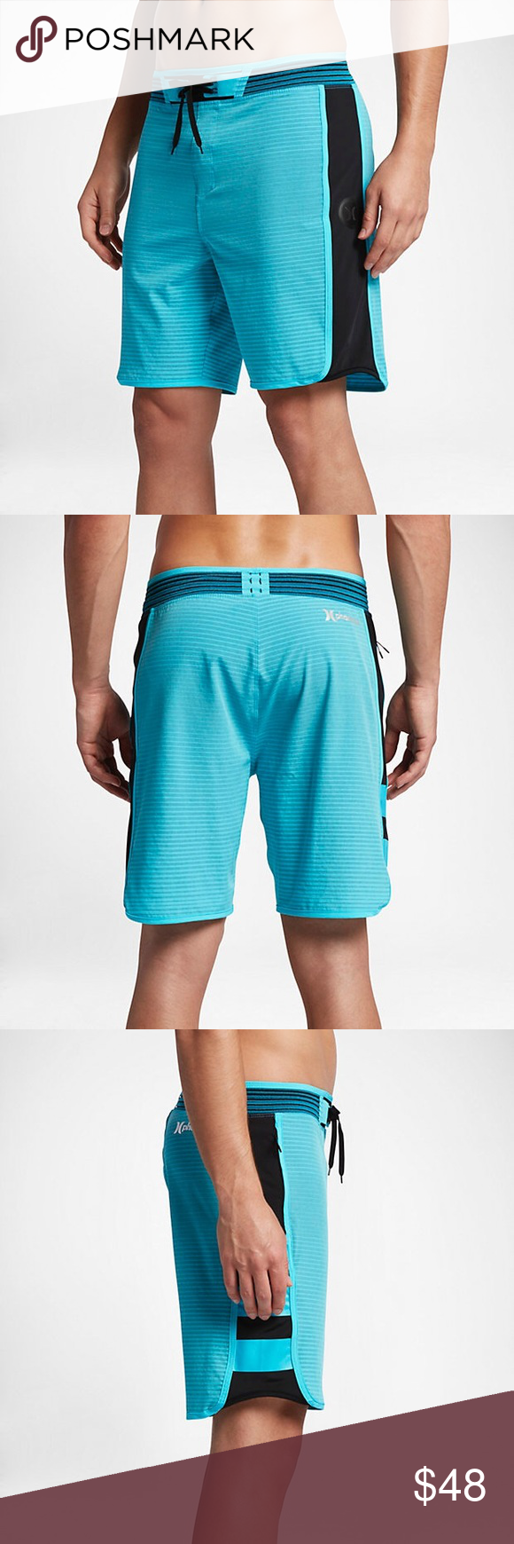 """1b78be67f0e HURLEY PHANTOM HYPERWEAVE MOTION STRIPE 18"""" SHORTS 🔘 Brand new with tags!  🔘 All"""