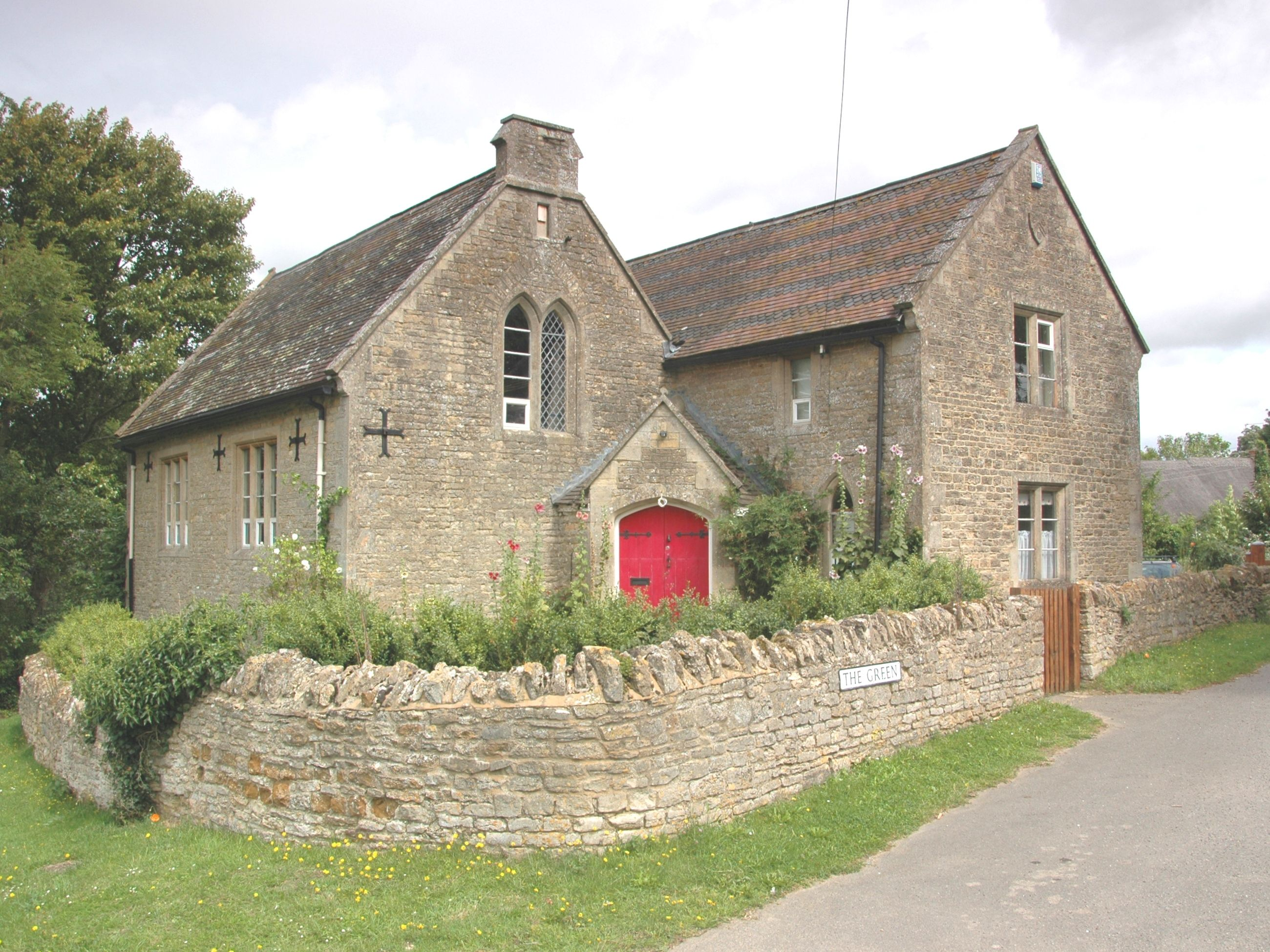 Upper Heyford, England school house Old school house