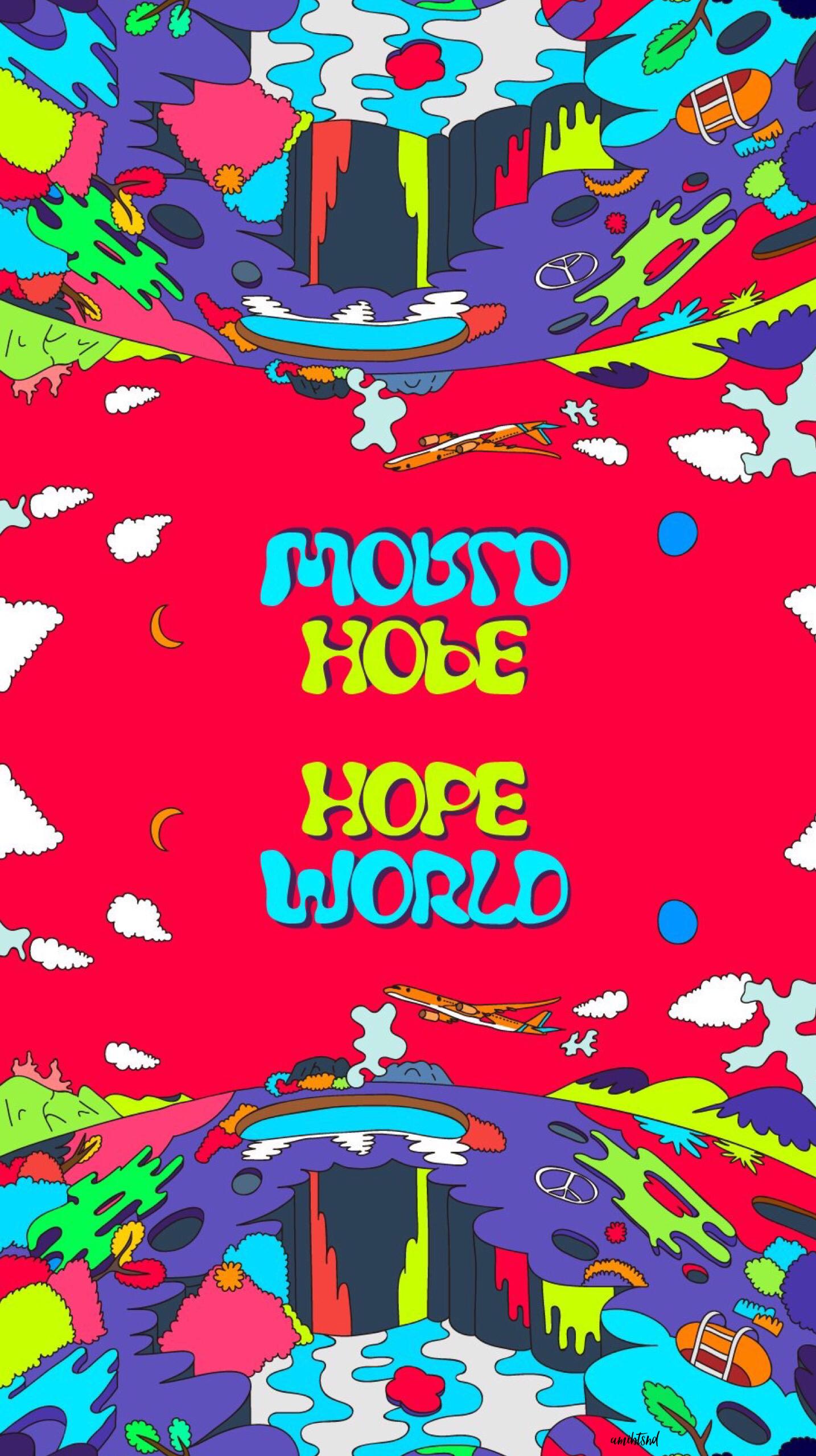 BTS WALLPAPER JHOPE JUNGHOSEOK HOPE WORLD | BTS in 2019
