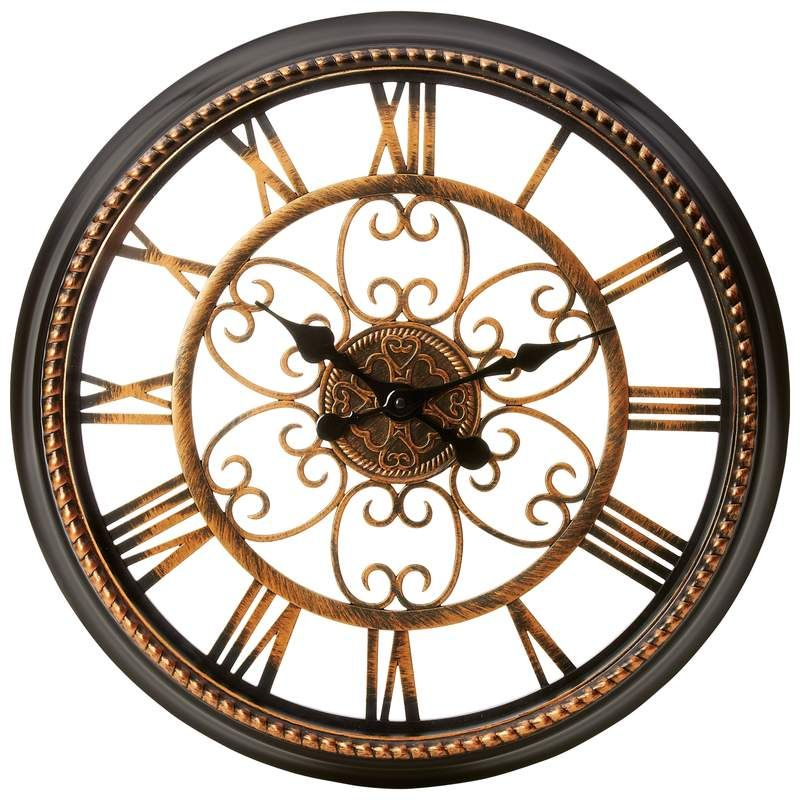 This clock is a wonderful way to bring class to any room. Find it at mydecoressentials.com