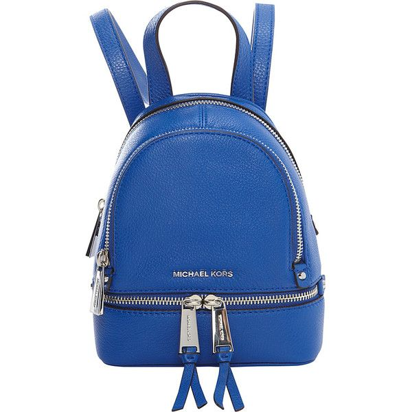 96976ad48f77d Michael Michael Kors Rhea Zip Xs Messenger Backpack (228) ❤ liked on Polyvore  featuring ...