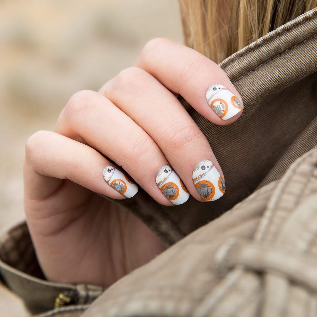 Stay On Target With Our New Starwars Nail Wraps Us Only Star Wars Nails Star Wars Collection Disney Inspired Nails