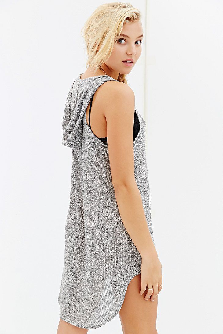 Project Social T Hooded Tank Top - Urban Outfitters