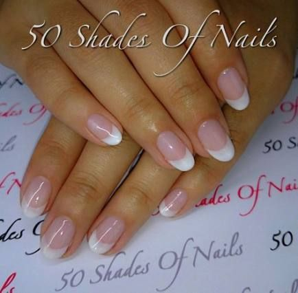 new nails french oval flower 51 ideas nails  french