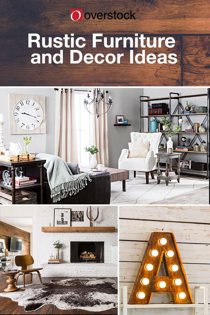 Rustic Decorating Ideas You'll Love