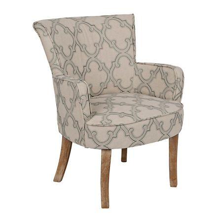 Lauren Quatrefoil Accent Chair | Kirklands