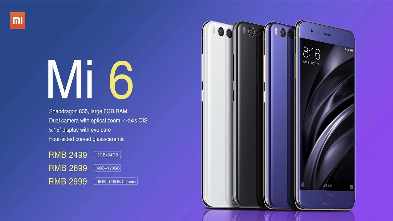Xiaomi Mi6 Full Specification Features Price Release Date 2017 Xiaomi Best Cell Phone Coverage Sprint Cell Phone Deals