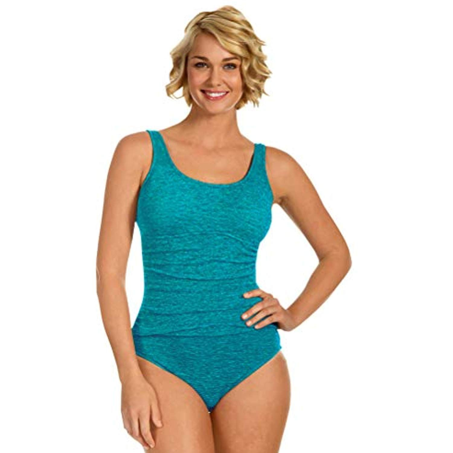 Krinkle Chlorine Resistant Aruba Long Torso Shirred One Piece Swimsuit Size 16l Click Image For More Details This Is An Affiliate Link Clothing Long