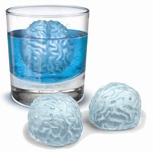 Brain Ice Cubes Zombie Apocalypse Party Zombie Party Brain Freeze