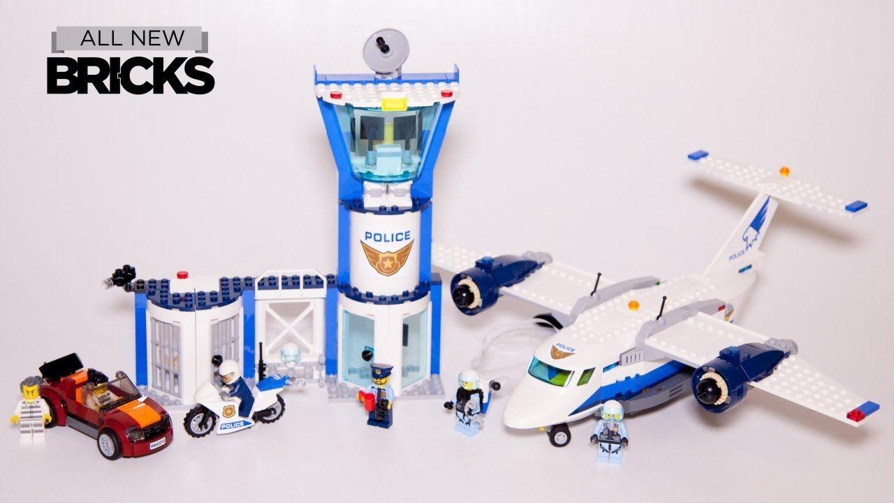 Lego City 60210 Sky Police Air Base Speed Build Lego City Lego Videos Lego