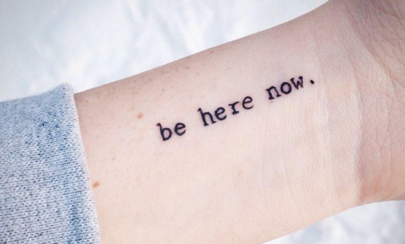 Tatuagens Femininas Delicadas Frases Em Ingles
