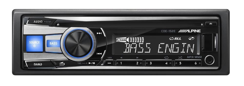 Cde 152e Head Unit Product Alpine Electronics Of Asia