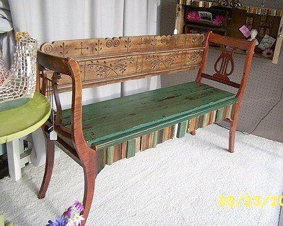 El sill n de madera hecha de sillas decoracion vintage for Sillas para viejitos