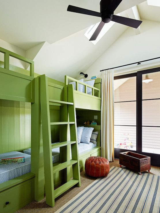 Built In Bunk Beds Side By Side Bunk Beds Green Bunk Beds Apple
