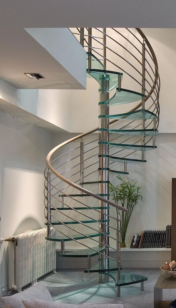 Best Glass Spiral Staircase Staircase Design Modern Stairs 640 x 480
