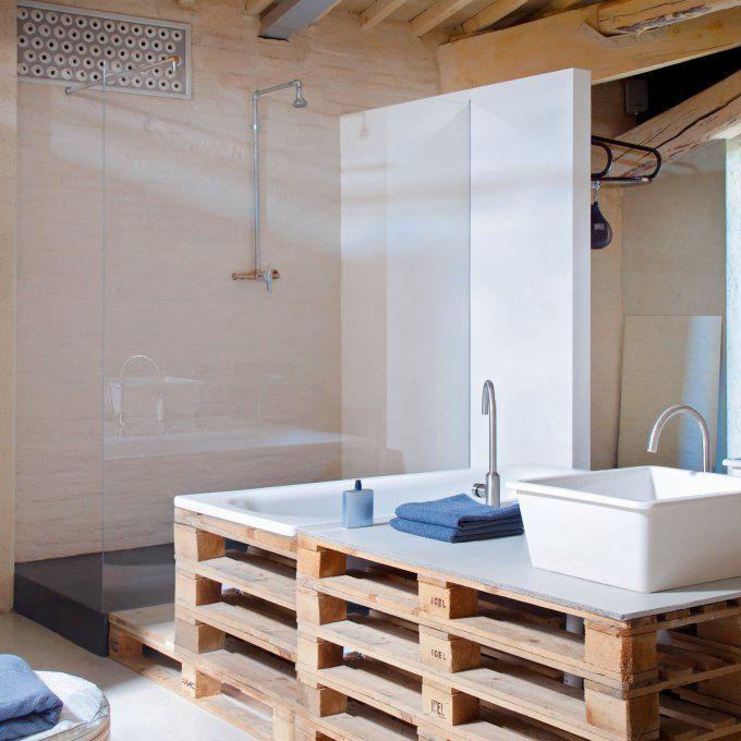 Quel type de peinture choisir pour la salle de bains - Quel couleur pour une salle de bain ...