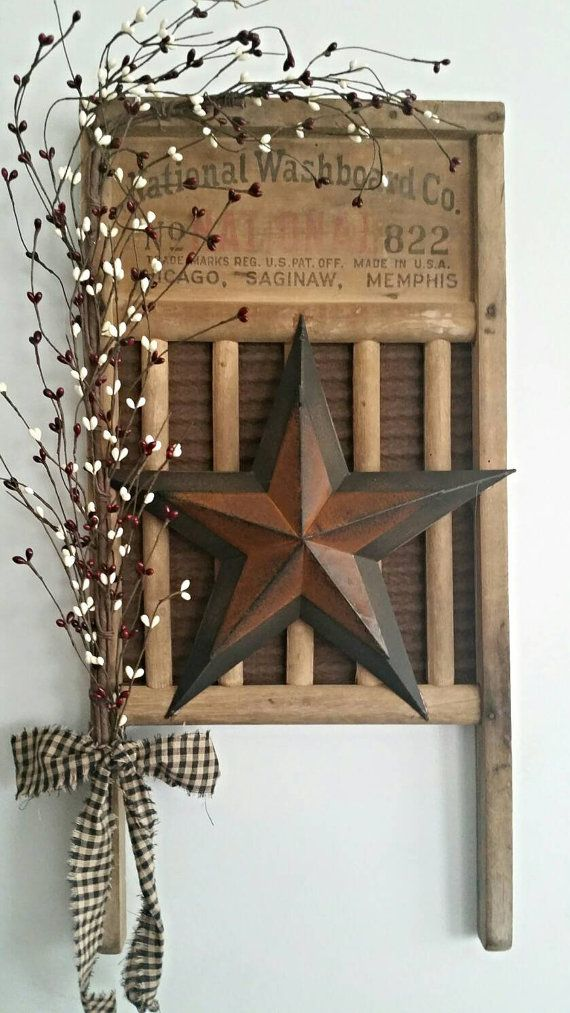 Pin By Judith On Gifts To Make Washboard Decor