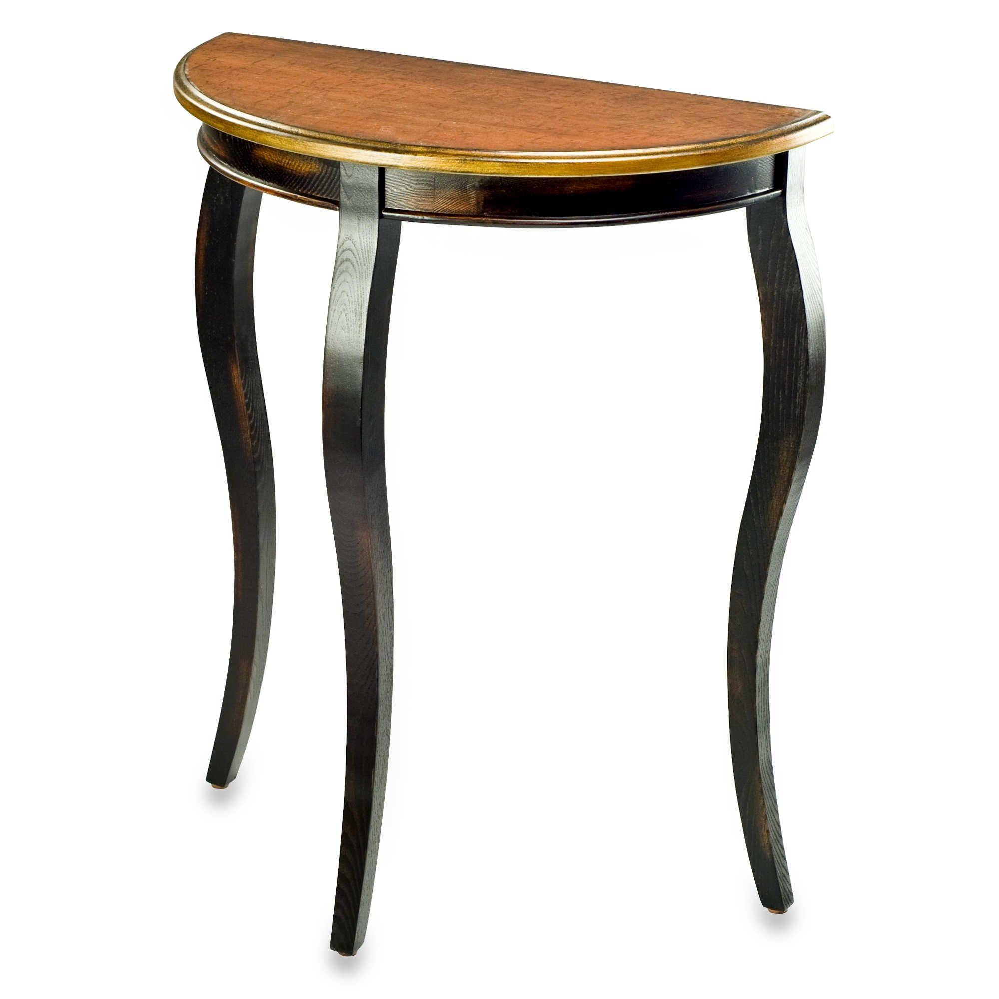 Half Round Sofa Table Wood