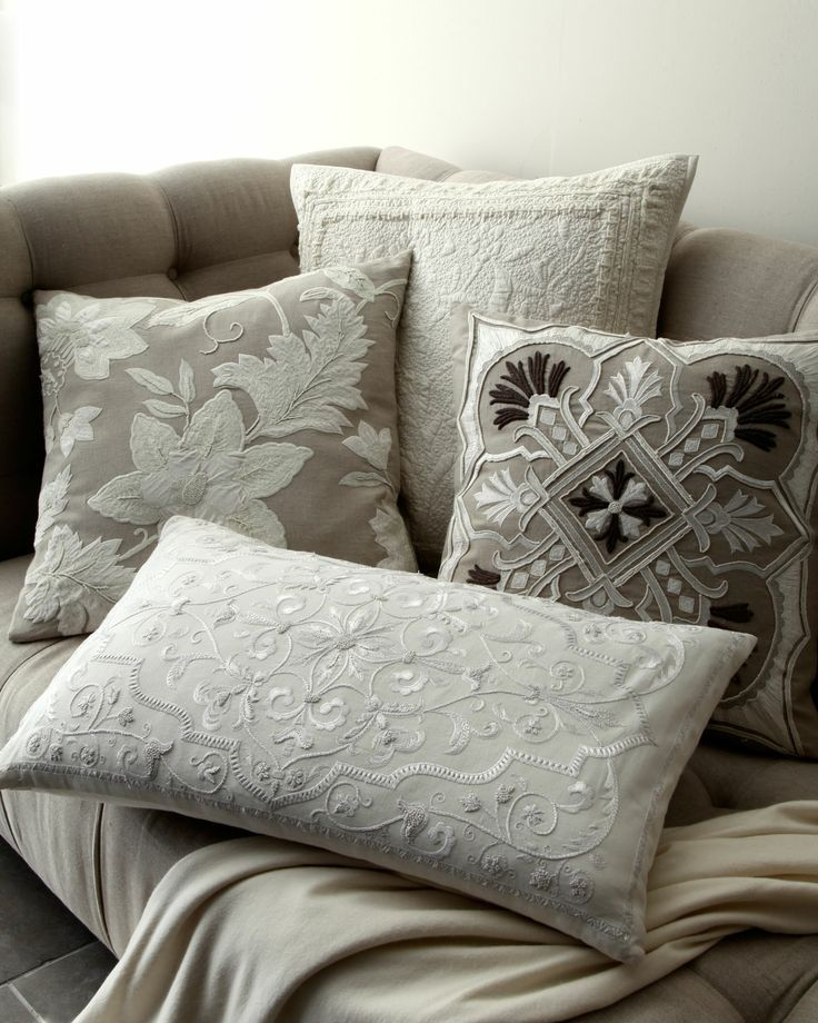 Callisto Home Aura Pillow Group Horchow Cushion Covers Interesting Callisto Home Decorative Pillows