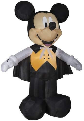 Mickey Vampire in Vest Giant Disney Inflatable in 2018 Products