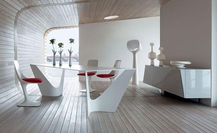 Oltre 25 fantastiche idee su sala da pranzo moderna bianca - Colori pareti sala da pranzo ...