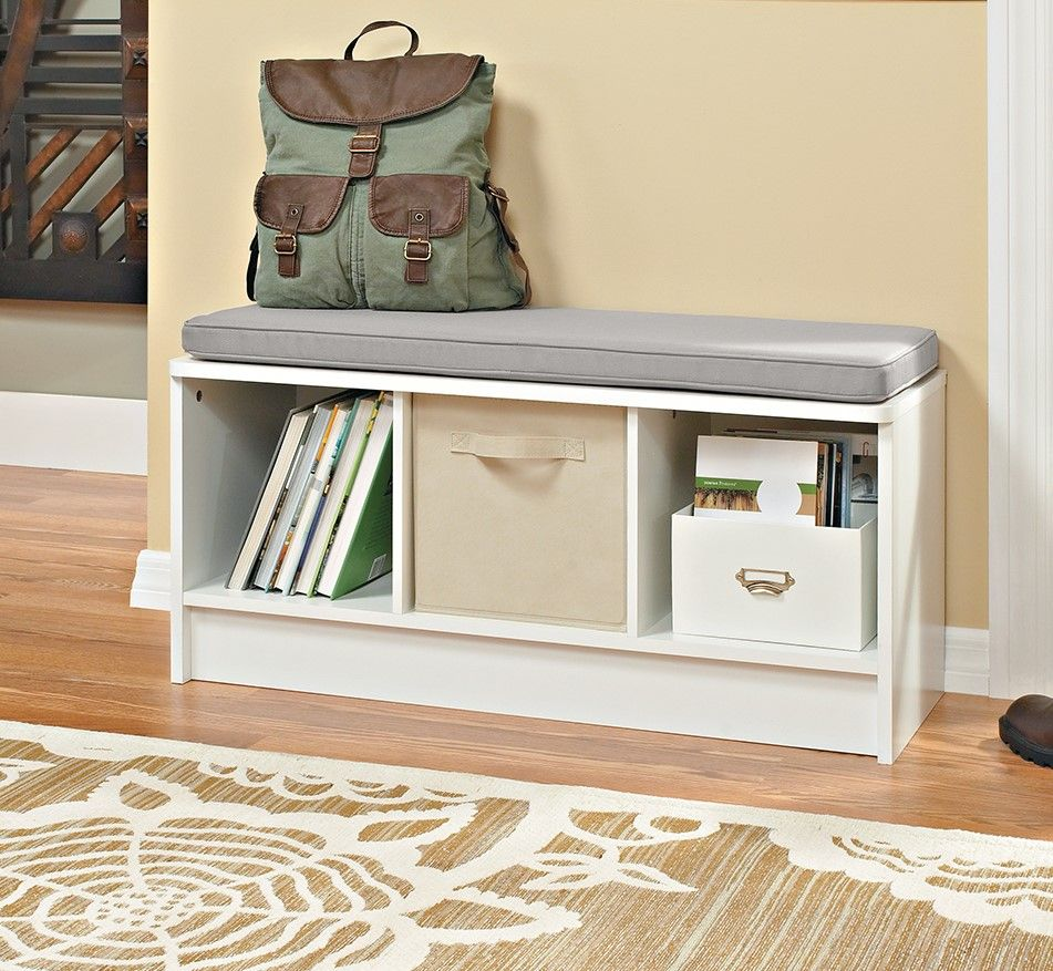 Effortlessly Create Organization In Your Entryway Or Mudroom With A 3 Cube Bench Now Available Cube Storage Bench Entryway Bench Storage Cubby Storage Bench