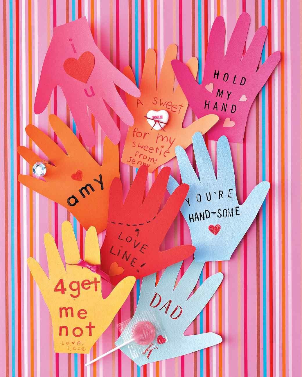 Handshaped valentines crafts with kids pinterest hand shapes