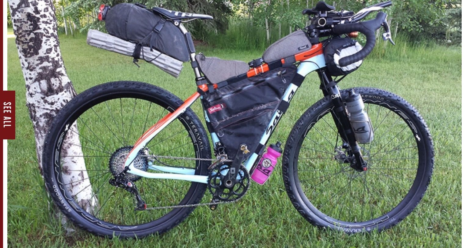 Pin By Roy Dahn On Touring Mountain Bike Races Bike Bike Camping