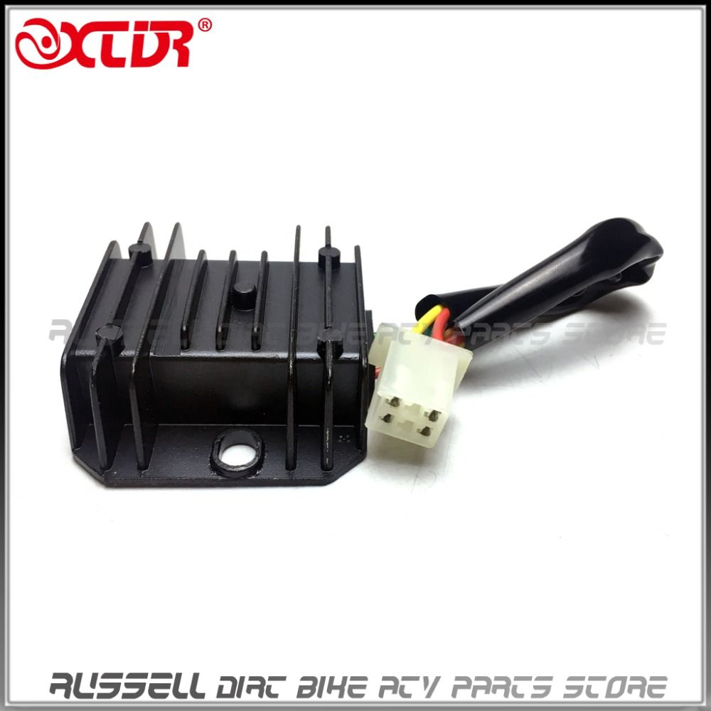 12v Regulator Rectifier 125cc 150cc Chinese Atv Quad Gas Scooter 4 Honda Crf Wiring Wires