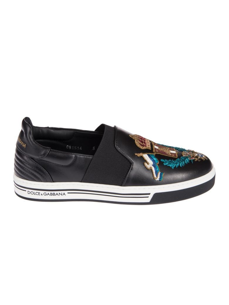 Leather LONDON Sneakers Spring/summerDolce & Gabbana ZlUJY