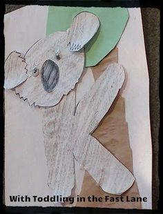Koala Bear Crafts Preschool Crafting