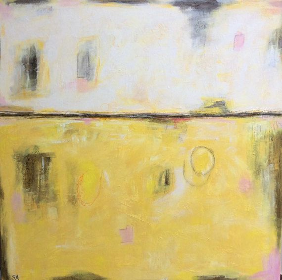 Large Abstract Painting Extra Large Wall by ArtbySonjaAlfreider