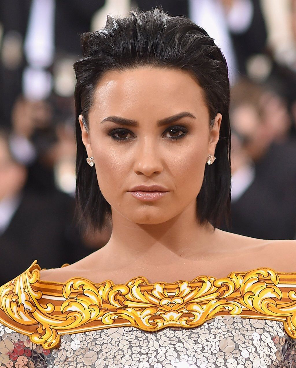 Demi Lovato at the #MetGala in New York - May 2nd