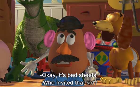 23 Hilarious Toy Story Moments That Ll Make You Laugh Every Time Toy Story Quotes Toy Story Funny Toy Story 1995
