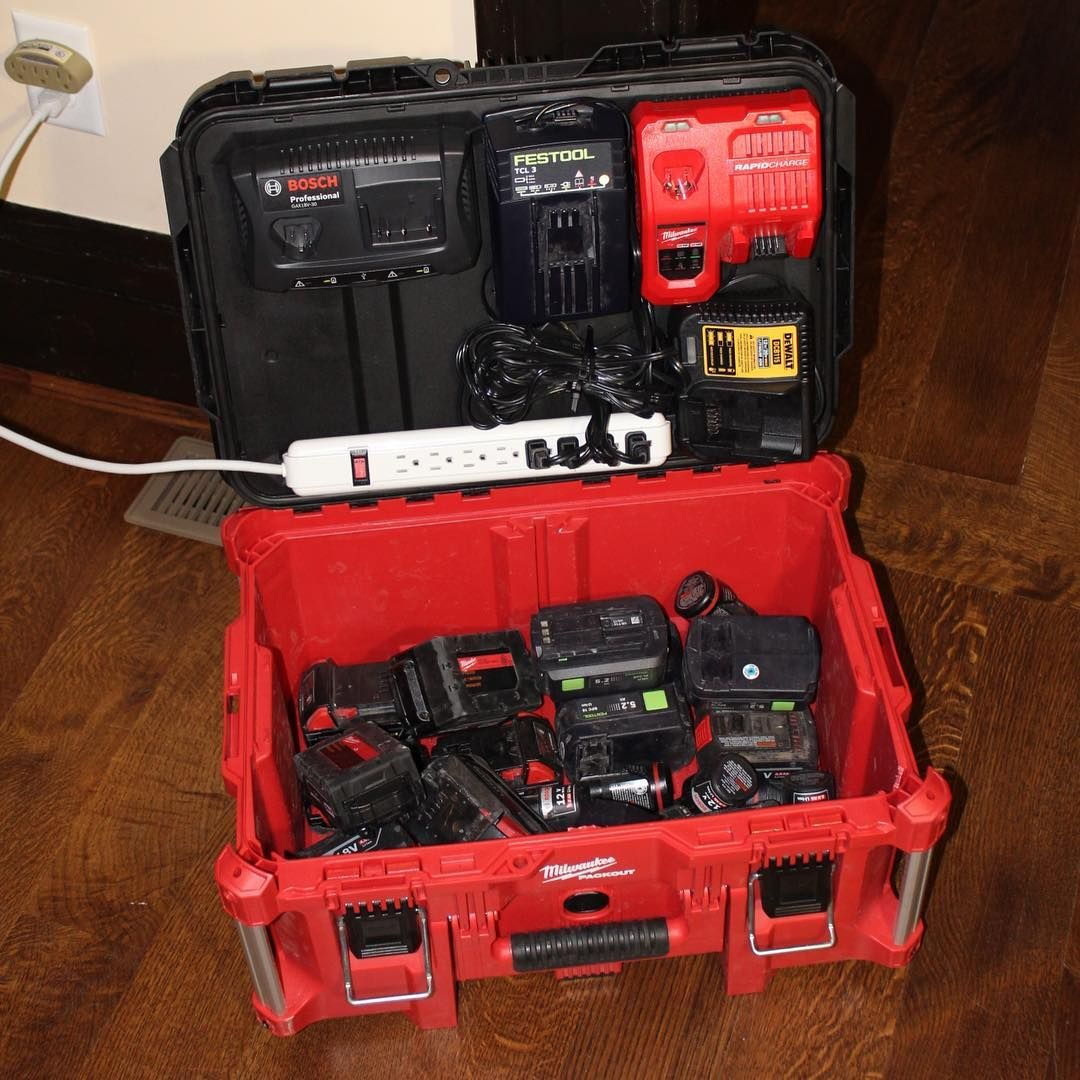 Tools At Workmy Packout Solution For All My Charging