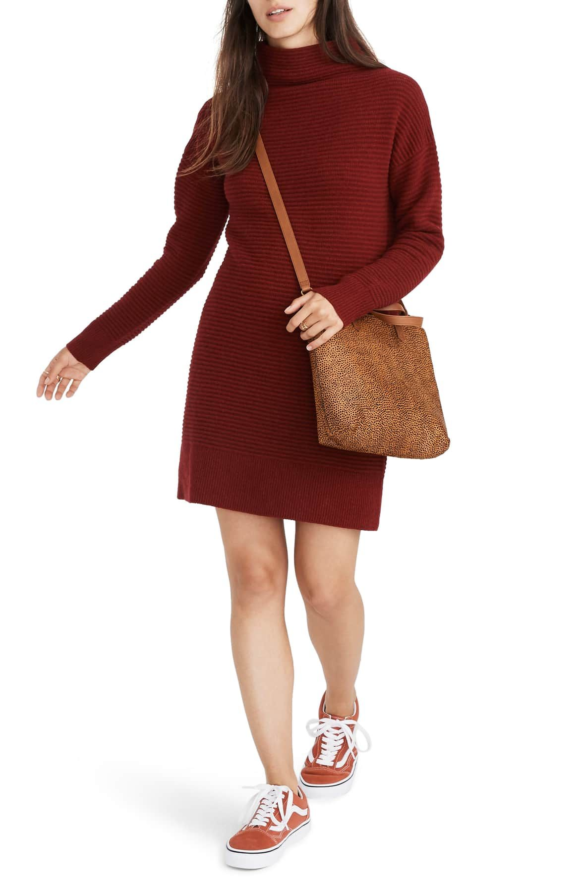 7a22518d2eb Skyscraper Merino Wool Sweater Dress