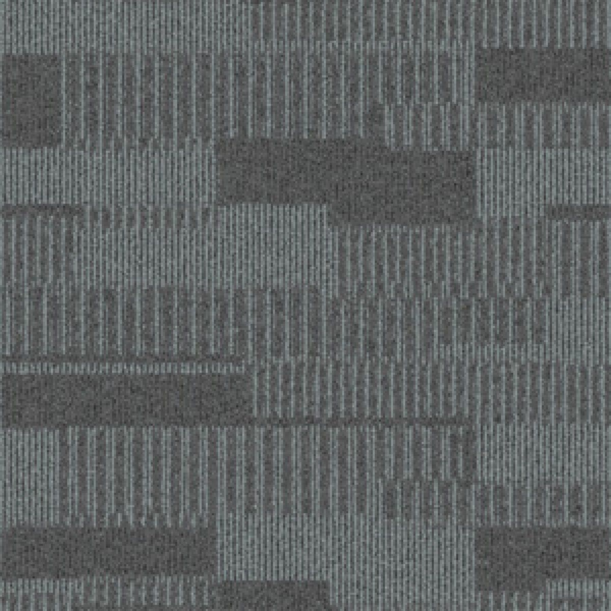 Beau Commercial Office Carpet | InterfaceFLOR Duet Carpet Tiles Colour Shadow  Grey .* JUST £24.75