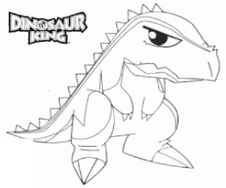 Print Dinosaur King Cards Printable Dinosaur Coloring Page