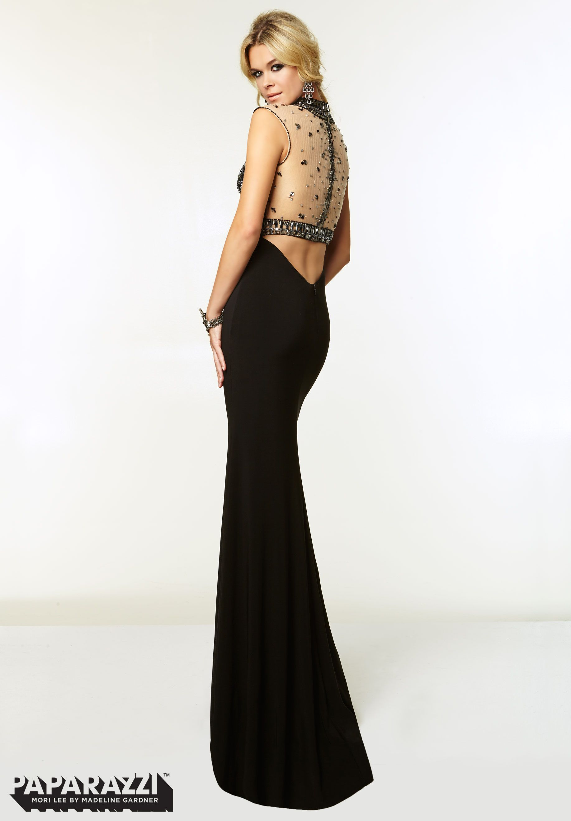 c5fe77b7bfb Prom Dresses   Gowns Style 97074  Jewel Beaded Net on Jersey http