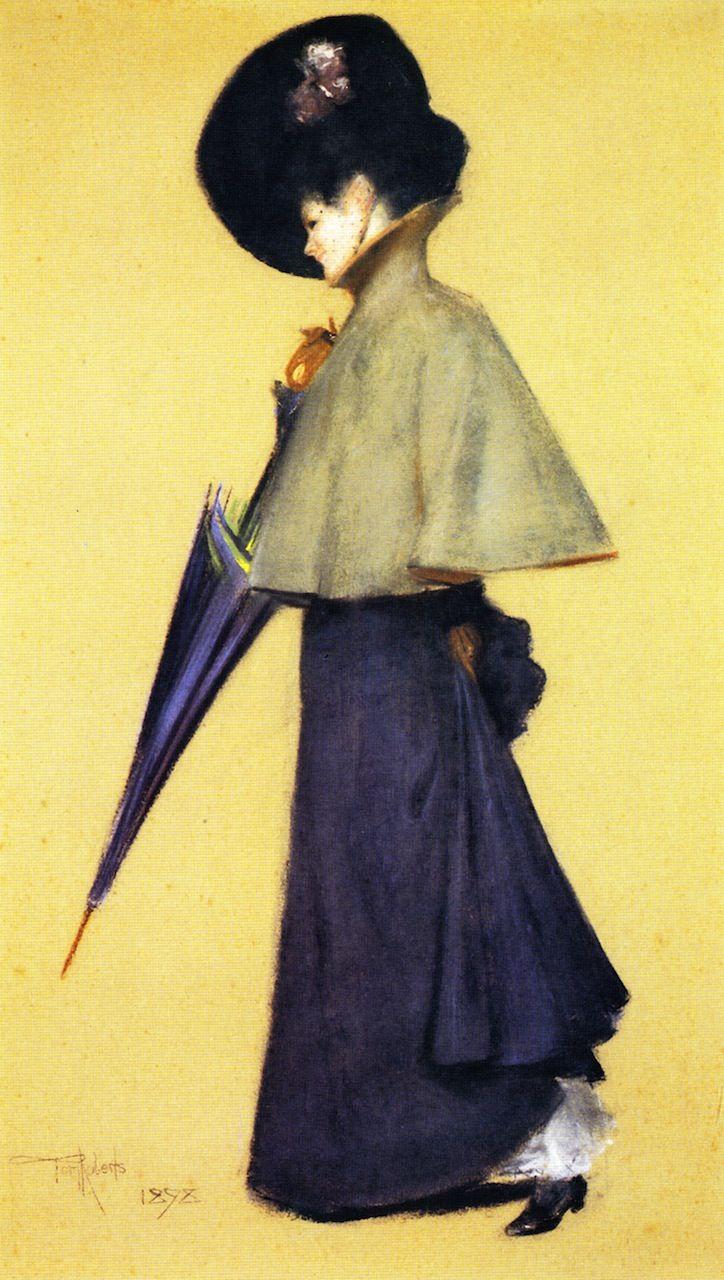 Portrait of a Standing Woman Portrait, Female art