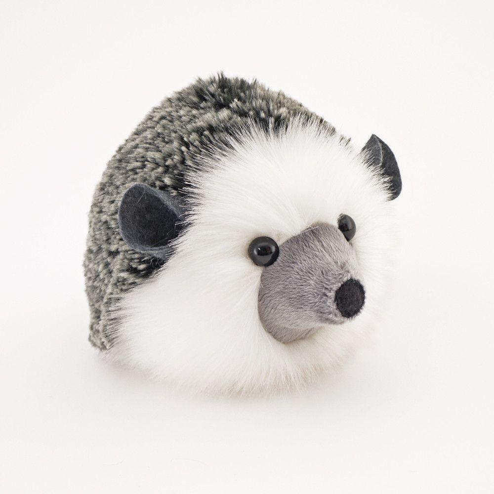 Hemingway The Black And Grey Hedgehog Stuffed Animal Plush Toy Animal Plush Toys Sewing Stuffed Animals Plush Toy [ 1000 x 1000 Pixel ]