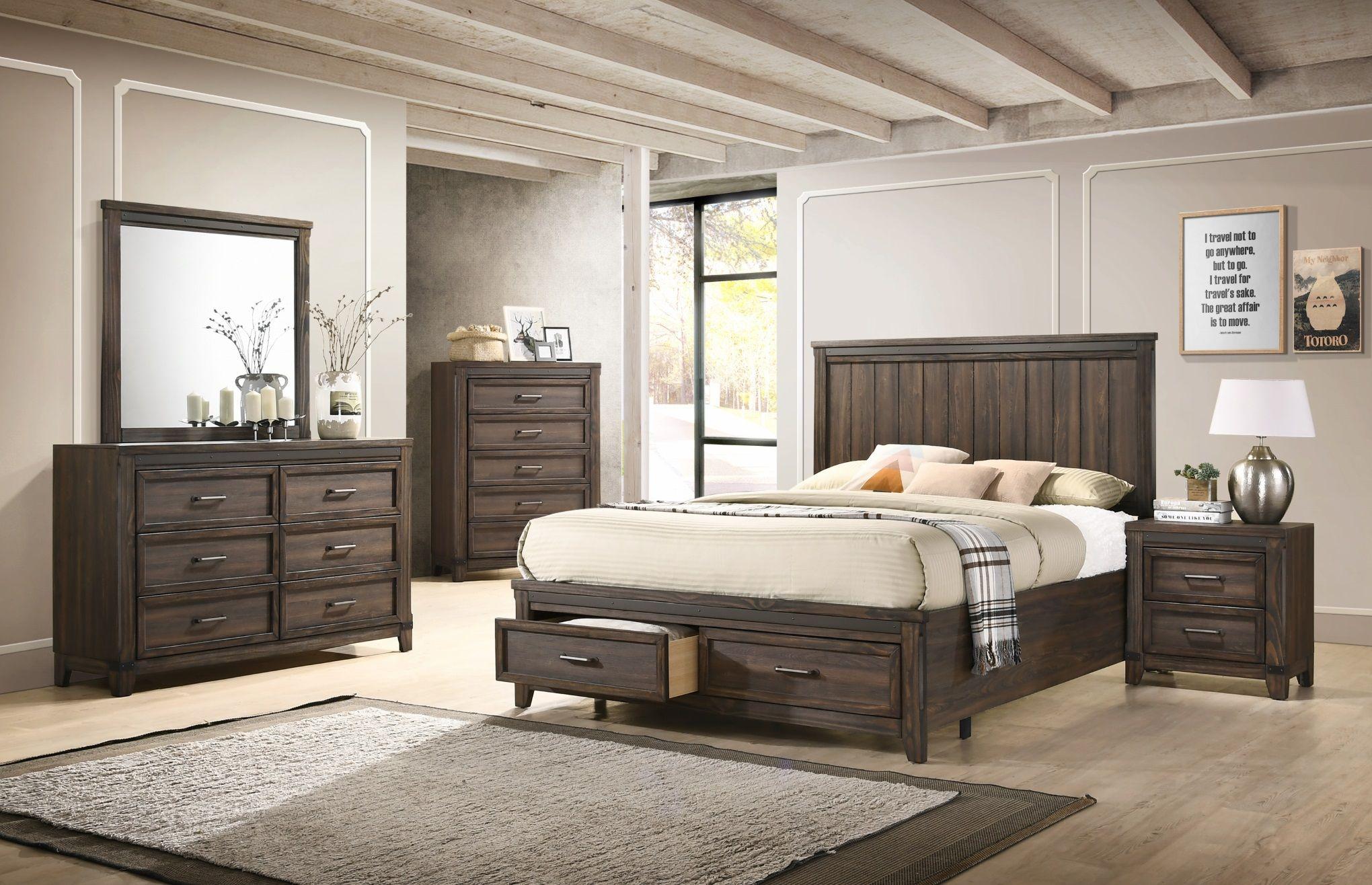 B3150 Presley Platform Bedroom Set In 2019 Beautiful Bedrooms