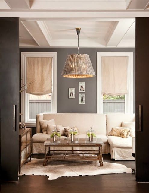 Can you mix grey and beige? + e-design lighting plan - Abby M. Interiors