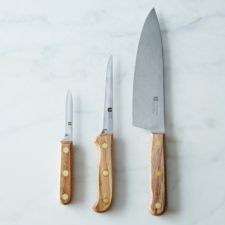 R. Murphy Reclaimed Wood Carbon Steel Knife on Food52 | Knives ...