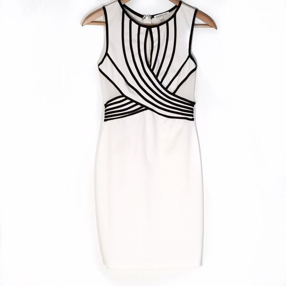 SUPER SALESCharlotte Russe mesh cocktail dress This dress is very pretty and it's perfect for any occasion as a mash at the back so you would have to wear a backless bra very figure flattering Charlotte Russe Dresses