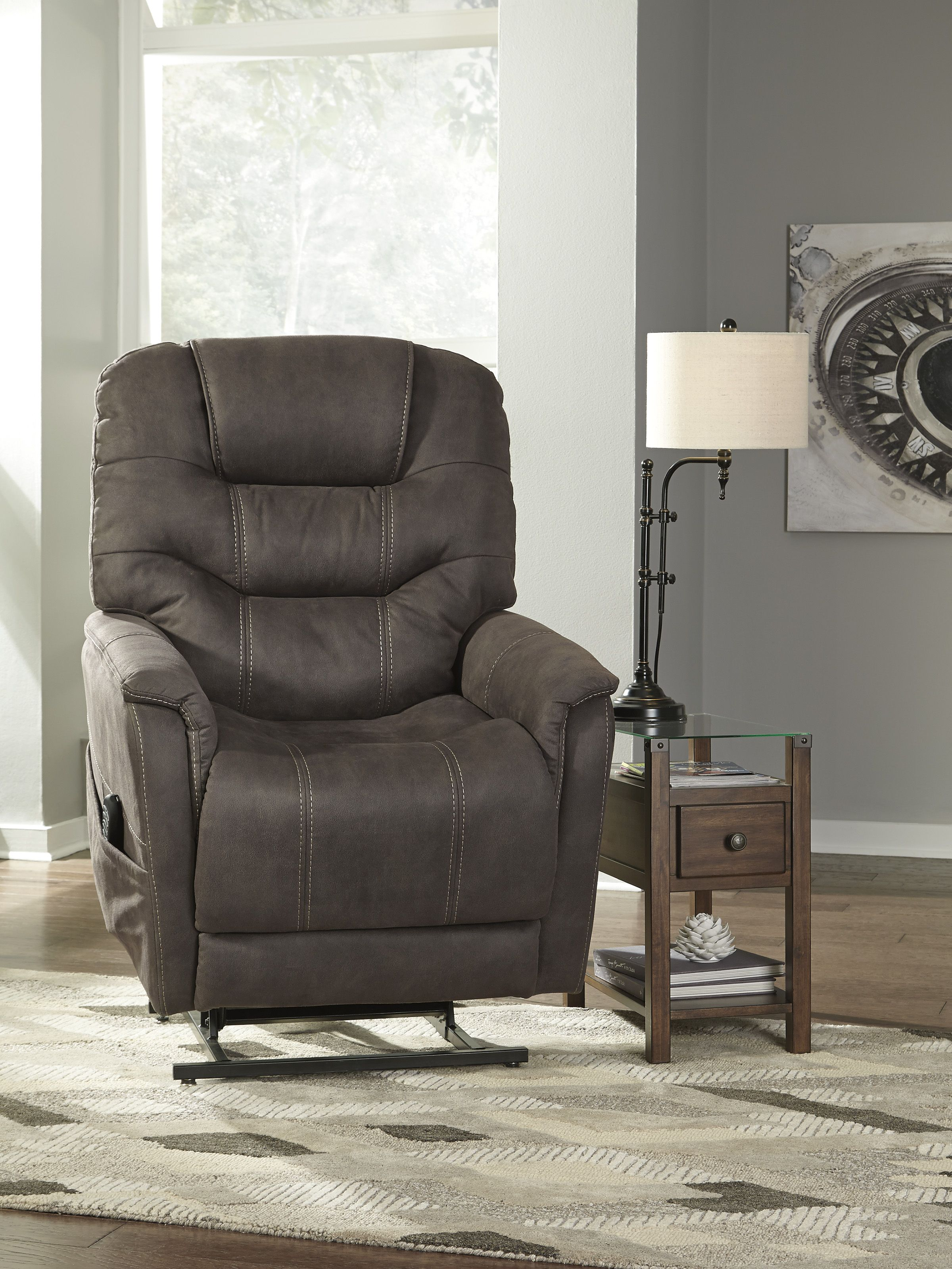 Take Charge Of Your Seating With This Power Lift Recliner Its